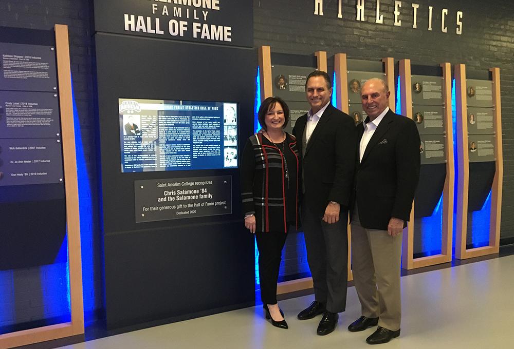 Chris Salamone Family Hall of Fame